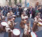 Casi 1.000 corellanos, en la procesión del Santo Entierro
