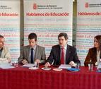 Iribas garantiza la defensa de las competencias en Educación