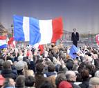 Sarkozy y Hollande prometen fortalecer Francia en los mercados