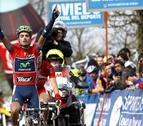 Beñat Intxausti, del Movistar Team, se impone en la Vuelta a Asturias