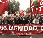 UGT y CC OO se movilizarán el 8 de febrero para forzar cambios laborales