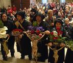 Mil romeros se unen en su oración la Virgen de Ujué