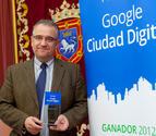 Pamplona recibe el premio Google Ciudad Digital