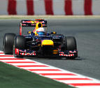 Vettel, mejor tiempo en la última sesión de libres de Montmeló