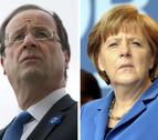 Merkel y Hollande se reúnen bajo la sombra de la crisis del euro