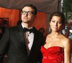 Beso apasionado de Justin Timberlake y Jessica Biel