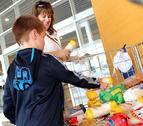 Los navarros donan 177.000 kilos al Banco de Alimentos