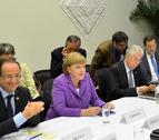 Merkel, Hollande, Monti y Rajoy, a por una solución común a la crisis
