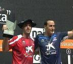 Olaizola II consigue en Bilbao su tercera txapela manomanista