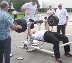 Ventura gana el Open navarro de Press-Banca tras levantar 185 kilos