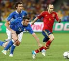 Andrés Iniesta, declarado mejor jugador de la Eurocopa 2012