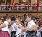 Viana e Irurtzun se anudan el pañuelico