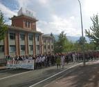 La plantilla de Inasa recibe el apoyo de 1.000 manifestantes en Irurtzun