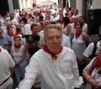 Alberto Faricle recibe el homenaje al Tudelano Ausente de El Brindis