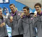 Phelps se despide de la natación con su decimoctavo oro