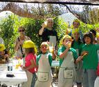 Mojitos ecológicos para los niños de Gallipienzo
