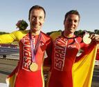 El ciclismo y la natación surten de medallas a España