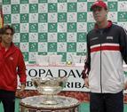 Ferrer y Querrey abrirán la semifinal de la Copa Davis en Gijón
