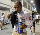 Victoria de Vettel en la noche de Singapur con Alonso tercero