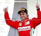 Felipe Massa renueva con Ferrari hasta el final de 2013