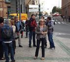 La cacerolada mundial contra la crisis también suena en Pamplona