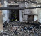 Extinguido un incendio en una vivienda de Miranda de Arga