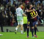 Jordi Alba sale al rescate en el último minuto (2-1)