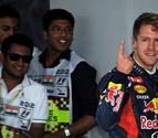 Vettel consigue una nueva 'pole' en la India y Alonso saldrá quinto