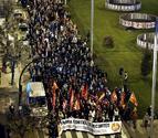 Los sindicatos cifran en un 70% el seguimiento de la huelga