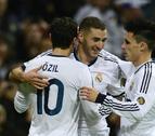 El Real Madrid golea al ritmo de Modric y Benzema (5-1)