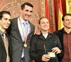 Mateo Garralda, premiado con la Medalla de Oro Real Orden al Mérito Deportivo