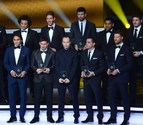 La Liga española copa el Once Ideal de la FIFA