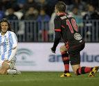 El Málaga recibe otro toque de atención por parte del Celta