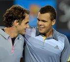 Federer sufre ante Tsonga, pero logra un sitio en las semifinales