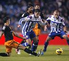 Ricardo Costa hiere de gravedad a un frágil Deportivo en el descuento