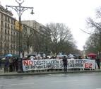 La plantilla del CEIN pide apoyo en el Parlamento de Navarra