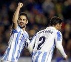 Isco coloca al Málaga en puestos de Liga de Campeones (1-2)