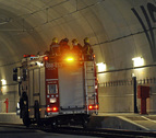 Éxito en el simulacro de accidente de un AVE en el túnel de Girona
