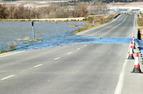 Vuelve a cortarse la carretera de Fustiñana a Ribaforada por la crecida del Ebro