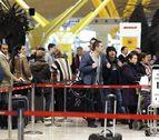 Iberia opera 54 vuelos, el 40% de las salidas programadas para hoy