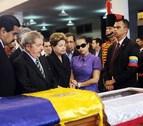 Presidentes latinoamericanos velan el cadáver de Hugo Chávez