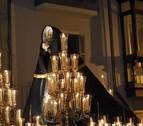 La Dolorosa recorre la noche de este viernes el Casco de Pamplona