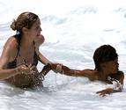 Heidi Klum salva a su hijo de morir ahogado en Hawai
