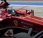Massa y Alonso, los más rápidos en los primeros libres de Baréin