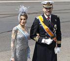 La Princesa de Asturias, la elegancia en seda y tul titanio