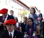 El Ayuntamiento de Pamplona recibe este domingo al cortejo de mayordomos de la Txantrea