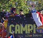 El Barcelona quiere prolongar la fiesta en el Camp Nou