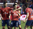 Dos golazos de Puñal y Cejudo dejan a Osasuna en Primera