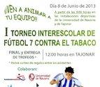 Fútbol y educación contra el tábaco