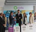 Los Príncipes de Asturias visitan la sede de Laboratorios Cinfa en Olloki